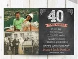 Birthday Gifts for Husband 40th 40 Years Of Marriage Gift for Parents 40th Wedding