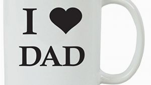 Birthday Gifts for Husband at Walmart I Love Dad 11 Oz White Ceramic Coffee Mug Pink with Free
