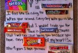 Birthday Gifts for someone Your Dating Candy Posters for Boyfriends Teens Christmas Decided