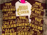 Birthday Girl and Friends Shirts Birthday Queen Friend Shirts Birthday Squad Shirt Friend