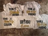 Birthday Girl and Friends Shirts Birthday Squad Shirts Birthday Girl Friend Squad Birthday