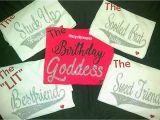 Birthday Girl and Friends Shirts Birthday Squad Shirts Sleepover Shirts Best Friend Birthday