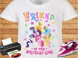 Birthday Girl and Friends Shirts My Little Pony Friend Of the Birthday Girl T Shirt