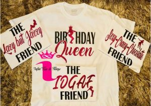 Birthday Girl and Squad Shirts Birthday Girl Shirts Birthday Squad Shirt Friend Squad