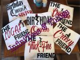 Birthday Girl and Squad Shirts Birthday Girl Shirts Birthday Squad Shirt Friend Squad