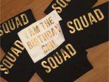 Birthday Girl and Squad Shirts Birthday Girl Squad Shirts