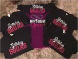 Birthday Girl and Squad Shirts Birthday Squad Shirt Birthday Queen Friend Squad Birthday