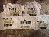 Birthday Girl and Squad Shirts Birthday Squad Shirts Birthday Girl Friend Squad Birthday