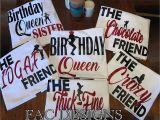 Birthday Girl and Squad Shirts Birthday Squad Shirts Birthday Girl Friend Squad