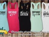 Birthday Girl and Squad Shirts Birthday Tank top Birthday Squad Birthday Girl Birthday