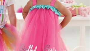 Birthday Girl attire Birthday Girl Tulle Dress by Mud Pie
