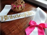 Birthday Girl Crown and Sash Birthday Crown and Sash Set Ships In 1 3 Business Days