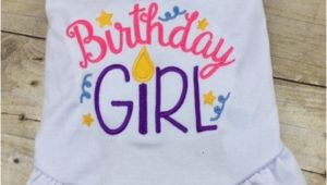 Birthday Girl Dog Shirt Birthday Girl Dog Dress or Tshirt Custom Monogrammed Party
