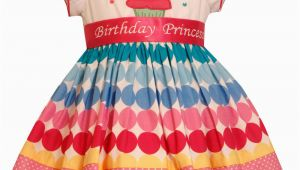 Birthday Girl Dress 4t New Bonnie Jean Girls Princess Polka Dot Cupcake Birthday