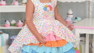 Birthday Girl Dresses for toddlers Size 3t Birthday Party Confection Dress Baby toddler Girls