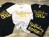 Birthday Girl Group Shirts Birthday Crew Shirts Birthday Party Shirts Birthday Group