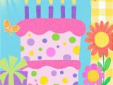 Birthday Girl In Spanish Pink Birthday Cake Spanish Language Birthday Card for Girl