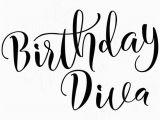 Birthday Girl Logo Birthday Diva Svg Birthday Girl Svg Happy Birthday Diva