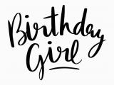 Birthday Girl Logo Free Svg Cut File Birthday Girl Cricut Files