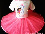 Birthday Girl Outfit 3t Dora Birthday Girl Set Outfit First 1st 2nd 3rd 2t 3t