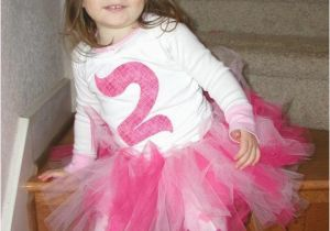 Birthday Girl Outfit 3t Items Similar to Pink 2nd Second Birthday Tutu Outfit 2t