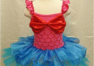 Birthday Girl Outfit 3t Little Mermaid Ariel Girls Baby Party Costume Birthday