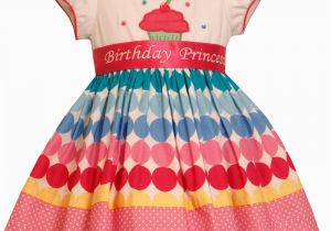 Birthday Girl Outfit 3t New Bonnie Jean Girls Princess Polka Dot Cupcake Birthday