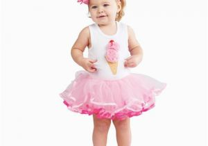Birthday Girl Outfit 3t New Girls Boutique Mud Pie Sz 2t 3t Ice Cream Tutu Dress