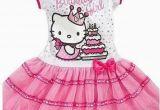 Birthday Girl Outfit 3t New Sanrio Hello Kitty Girls Pink 39 Birthday Girl 39 Tutu