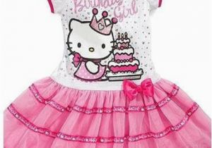 Birthday Girl Outfit 3t New Sanrio Hello Kitty Girls Pink 39 Birthday Girl 39 Tutu