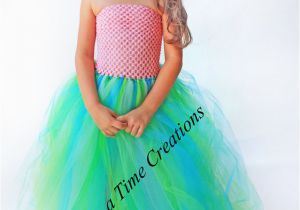 Birthday Girl Outfit 3t Pink Mermaid Tutu Dress 6 12 Months 2t 3t 4t 5t 6 7 8 10
