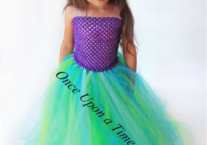 Birthday Girl Outfit 3t Ready to Ship Mermaid Tutu Dress Birthday Outfit