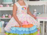 Birthday Girl Outfit 3t Size 3t Birthday Party Confection Dress Baby toddler Girls