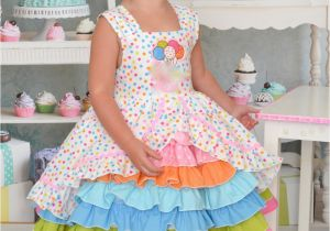 Birthday Girl Outfits 2t Size 3t Birthday Party Confection Dress Baby toddler Girls