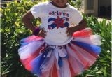 Birthday Girl Outfits Adults 4th Of July Red White Blue Girls Birthday Tutu Outfit