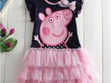 Birthday Girl Outfits for toddlers Kids toddler Girls Cartoon Cute Peppa Pig Birthday Dress