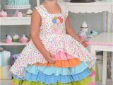 Birthday Girl Outfits for toddlers Size 3t Birthday Party Confection Dress Baby toddler Girls