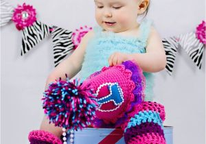 Birthday Girl Outfits for Women 1st Birthday Outfit for Girls Hot Pink Purple Turquoise Baby
