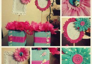 Birthday Girl Pin Dollar Tree Garden Party Idea Girls Birthday Ideas Centerpices