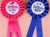 Birthday Girl Pins Favors 1pc Birthday Girl Boy Award Ribbon Rosette Badge