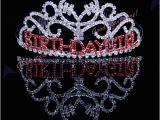 Birthday Girl Rhinestone Tiara Birthday Girl Red Rhinestone Comb Tiara Princess Party