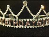 Birthday Girl Rhinestone Tiara Rhinestone Birthday Girl Princess Tiara by