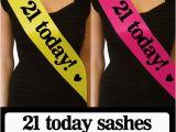 Birthday Girl Sash 21 Luxury 21 today Birthday Sash Gift for 21st Birthday Party