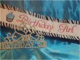 Birthday Girl Sash and Crown Birthday Girl Sash and Tiara