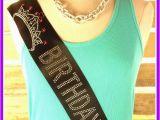 Birthday Girl Sash and Tiara Birthday Princess Birthday Sash Tiara Birthday Princess Sash