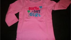 Birthday Girl Shirt 4t New Girls Size 3t 4t 5t Birthday Girl Shirt Ebay