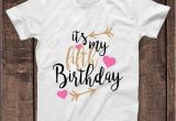 Birthday Girl Shirts for Kids It 39 S My 5th Fifth Birthday T Shirt Childrens Kids T