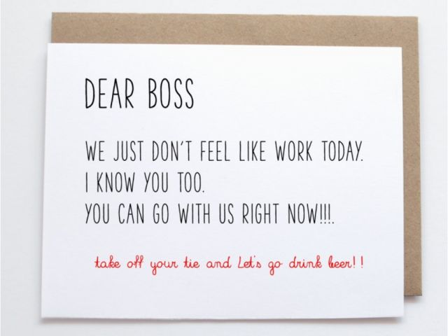 Birthday Greeting Card For Boss Free