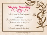 Birthday Greeting Card for Boss Birthday Wishes for Boss 365greetings Com