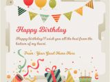 Birthday Greeting Card with Name and Photo Happy Birthday Greeting Card with Name Edit 101 Birthdays